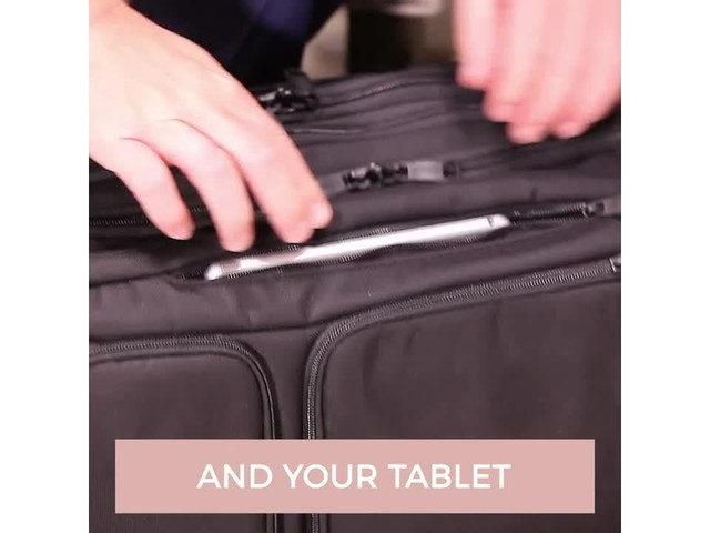 eBags Professional Laptop Briefcase - image 6 from the video