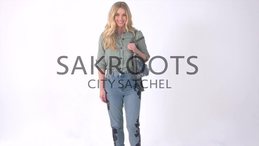 Sakroots Artist Circle City Satchel - image 1 from the video