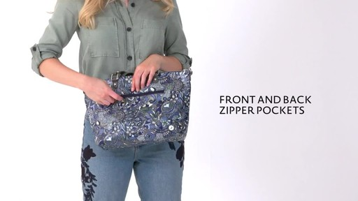 Sakroots Artist Circle City Satchel - image 2 from the video