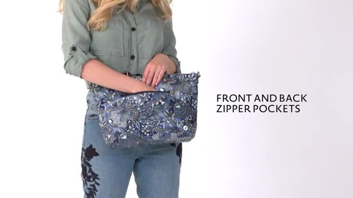 Sakroots Artist Circle City Satchel - image 3 from the video