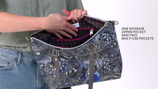 Sakroots Artist Circle City Satchel - image 4 from the video