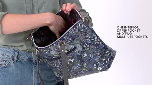 Sakroots Artist Circle City Satchel - image 5 from the video