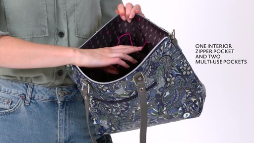 Sakroots Artist Circle City Satchel - image 6 from the video