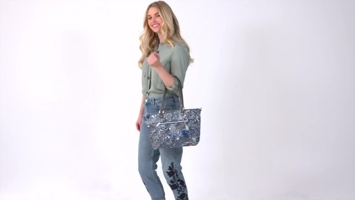 Sakroots Artist Circle City Satchel - image 9 from the video