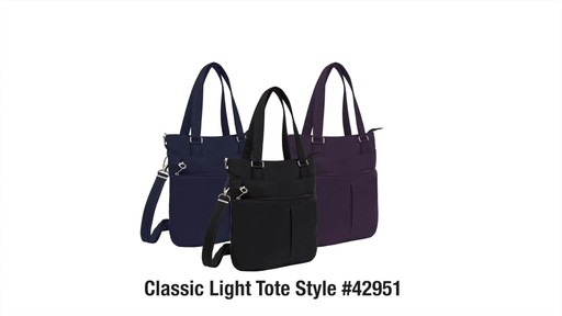 Travelon Anti-Theft Classic Light Tote - eBags.com - image 10 from the video