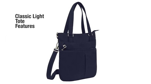 Travelon Anti-Theft Classic Light Tote - eBags.com - image 2 from the video