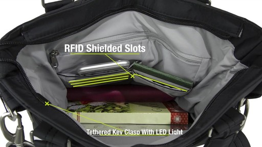 Travelon Anti-Theft Classic Light Tote - eBags.com - image 8 from the video