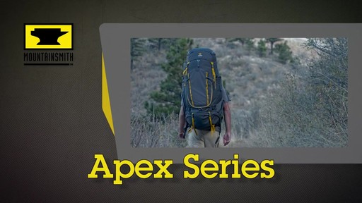 Mountainsmith Apex Hiking Backpacks - image 1 from the video