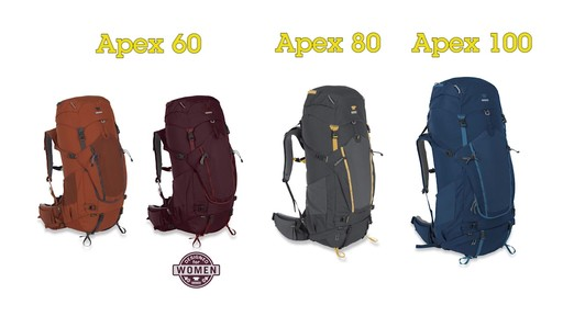 Mountainsmith Apex Hiking Backpacks - image 2 from the video
