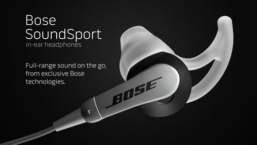 Bose SoundSport In-Ear Headphones (w/Mic) - Shop eBags.com - image 1 from the video