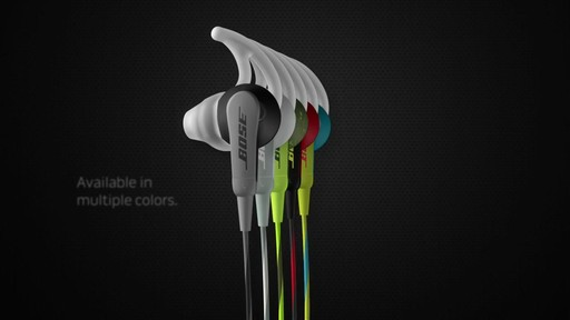 Bose SoundSport In-Ear Headphones (w/Mic) - Shop eBags.com - image 7 from the video