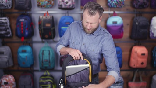 JanSport - Source Laptop Backpack - image 5 from the video