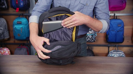 JanSport - Source Laptop Backpack - image 6 from the video