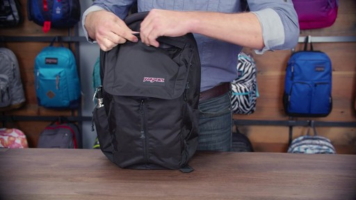 JanSport - Source Laptop Backpack - image 7 from the video