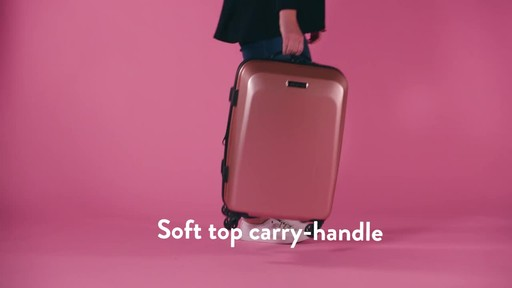 American Tourister Moonlight Expandable Hardside Spinner Luggage - image 2 from the video