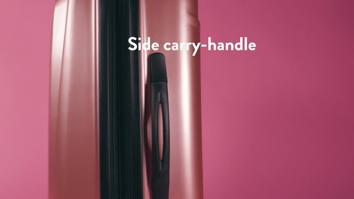 American Tourister Moonlight Expandable Hardside Spinner Luggage - image 3 from the video