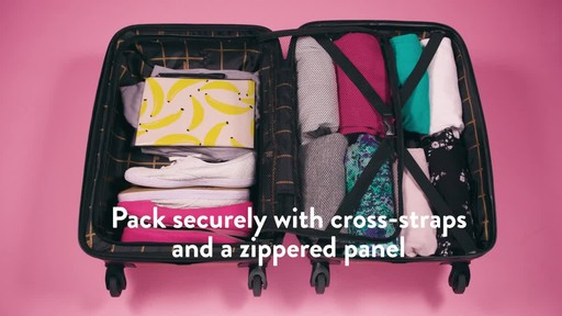 American Tourister Moonlight Expandable Hardside Spinner Luggage - image 7 from the video