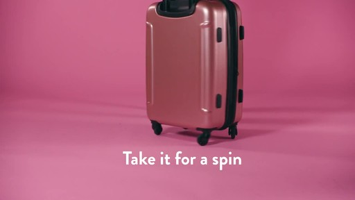 American Tourister Moonlight Expandable Hardside Spinner Luggage - image 8 from the video