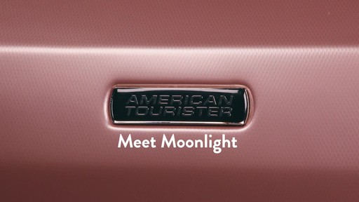 American Tourister Moonlight Expandable Hardside Spinner Luggage - image 9 from the video