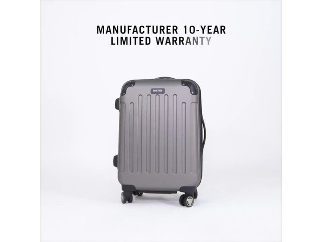 Kenneth Cole Reaction Renegade Luggage Collection - image 7 from the video