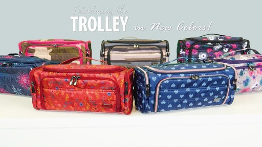 Lug Trolley Toiletry Case - image 1 from the video