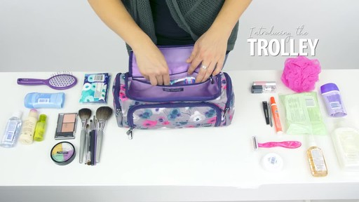 Lug Trolley Toiletry Case - image 2 from the video