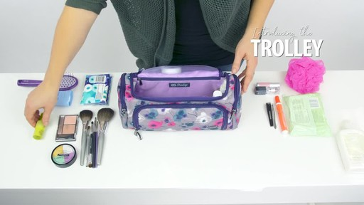 Lug Trolley Toiletry Case - image 3 from the video