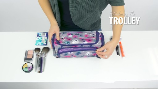 Lug Trolley Toiletry Case - image 4 from the video