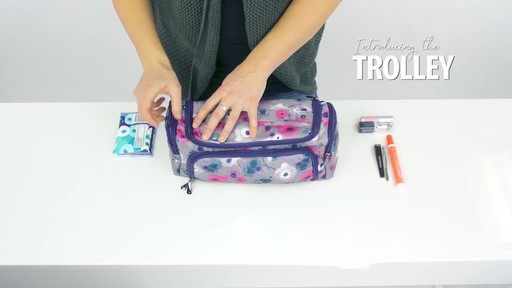 Lug Trolley Toiletry Case - image 5 from the video