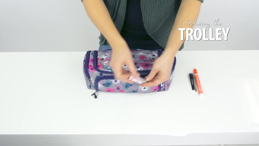 Lug Trolley Toiletry Case - image 6 from the video