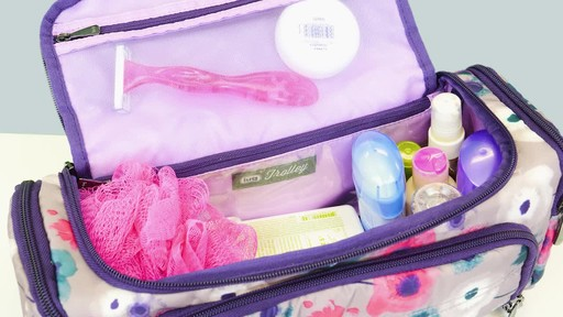 Lug Trolley Toiletry Case - image 8 from the video