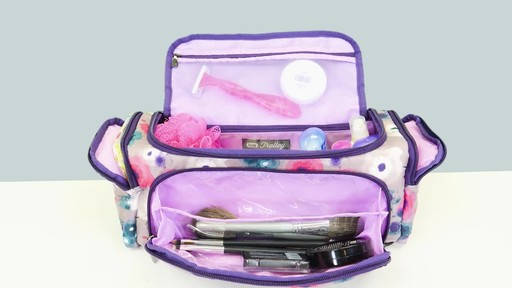 Lug Trolley Toiletry Case - image 9 from the video