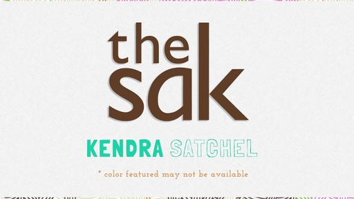 The Sak | Kendra Satchel - image 10 from the video