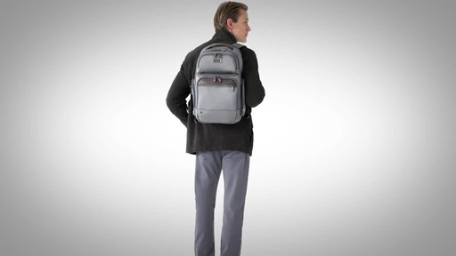 Briggs & Riley @work Medium Cargo Laptop Backpack - image 10 from the video