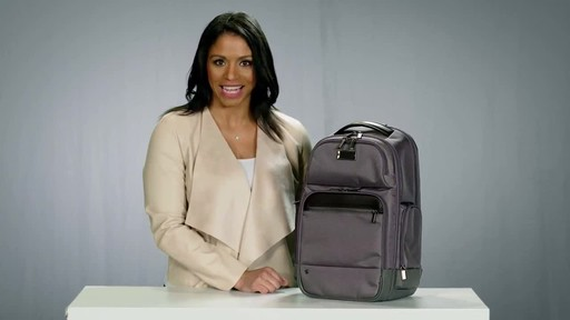 Briggs & Riley @work Medium Cargo Laptop Backpack - image 2 from the video