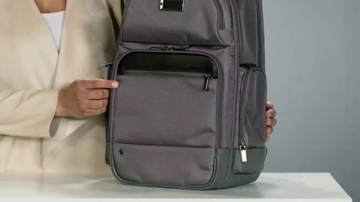 Briggs & Riley @work Medium Cargo Laptop Backpack - image 3 from the video