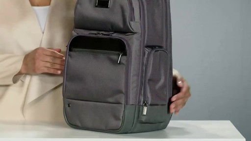 Briggs & Riley @work Medium Cargo Laptop Backpack - image 4 from the video