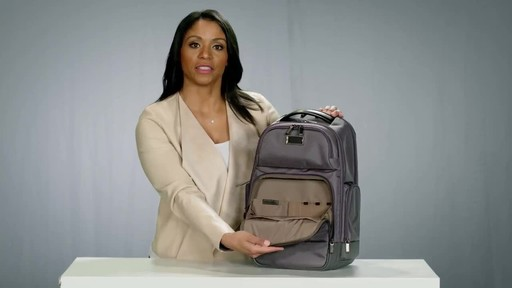 Briggs & Riley @work Medium Cargo Laptop Backpack - image 5 from the video