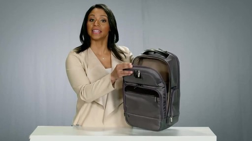 Briggs & Riley @work Medium Cargo Laptop Backpack - image 7 from the video