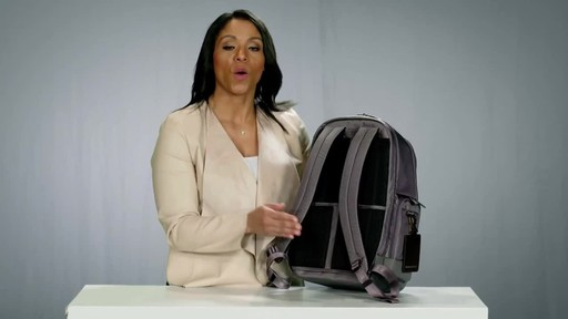 Briggs & Riley @work Medium Cargo Laptop Backpack - image 9 from the video