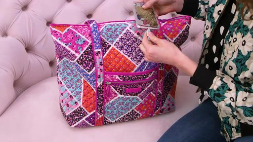 Vera Bradley Iconic Vera Tote - image 3 from the video