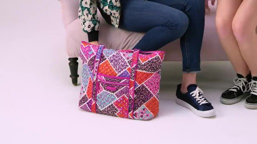 Vera Bradley Iconic Vera Tote - image 9 from the video