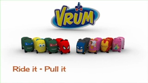 Wicked Cool Toys - Vrum Luggage for Kids - image 9 from the video