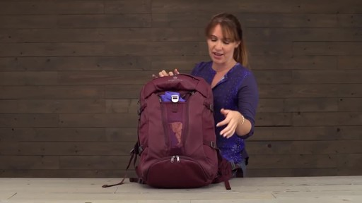 Eagle Creek Womens Global Companion 40L Backpack - image 10 from the video