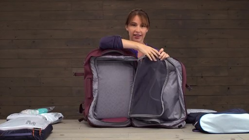Eagle Creek Womens Global Companion 40L Backpack - image 2 from the video