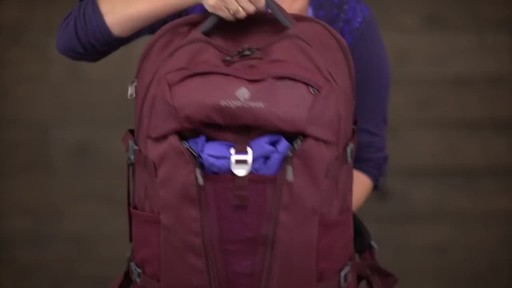Eagle Creek Womens Global Companion 40L Backpack - image 3 from the video