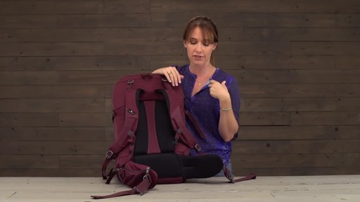 Eagle Creek Womens Global Companion 40L Backpack - image 4 from the video