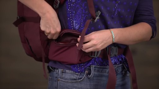 Eagle Creek Womens Global Companion 40L Backpack - image 6 from the video