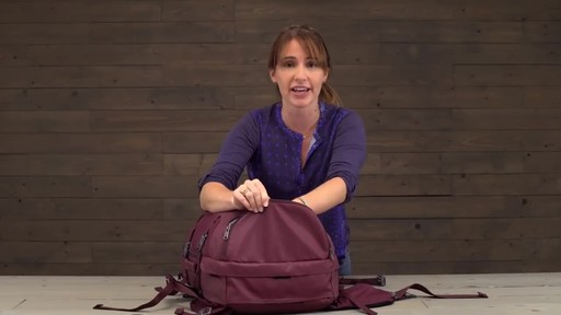 Eagle Creek Womens Global Companion 40L Backpack - image 7 from the video