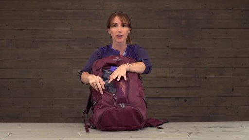Eagle Creek Womens Global Companion 40L Backpack - image 8 from the video